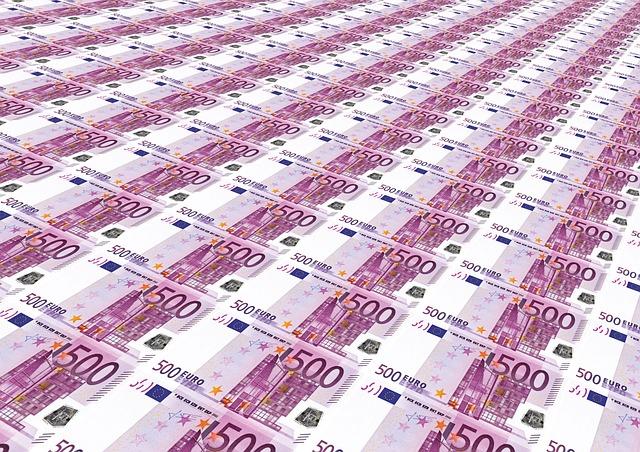 Dinheiro 500 euros