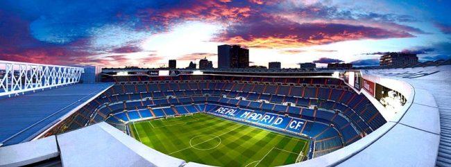 Estádio Barnabéu Real Madrid