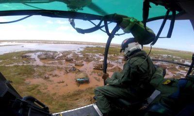 Marinha resgata mulher Moçambique 1