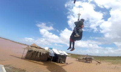 Marinha resgata mulher Moçambique 2