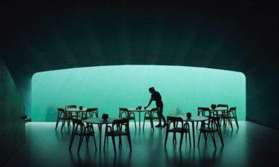 Restaurante subaquático Under