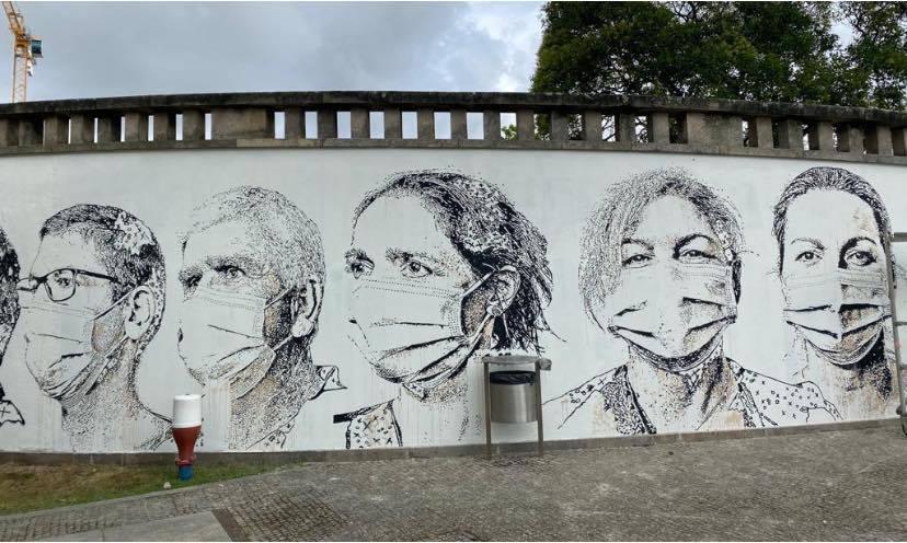 Mural Hospital São João Vhills